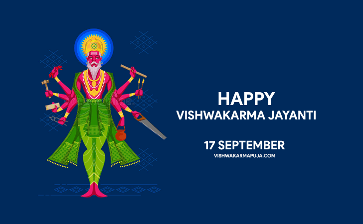 Charming Vishwakarma Puja Greeting