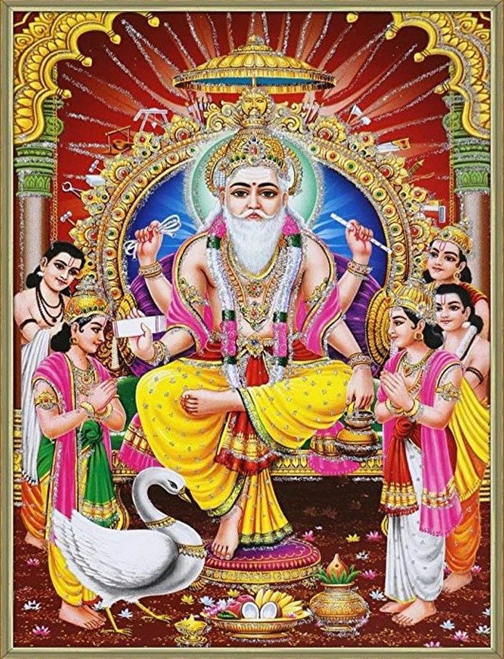 Wonderful Vishwakarma Puja Poster