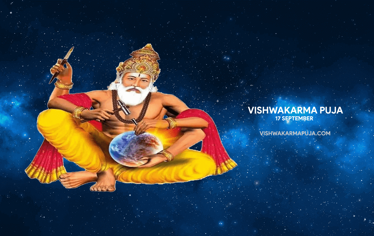 Appealing Vishwakarma Puja Wallpaper